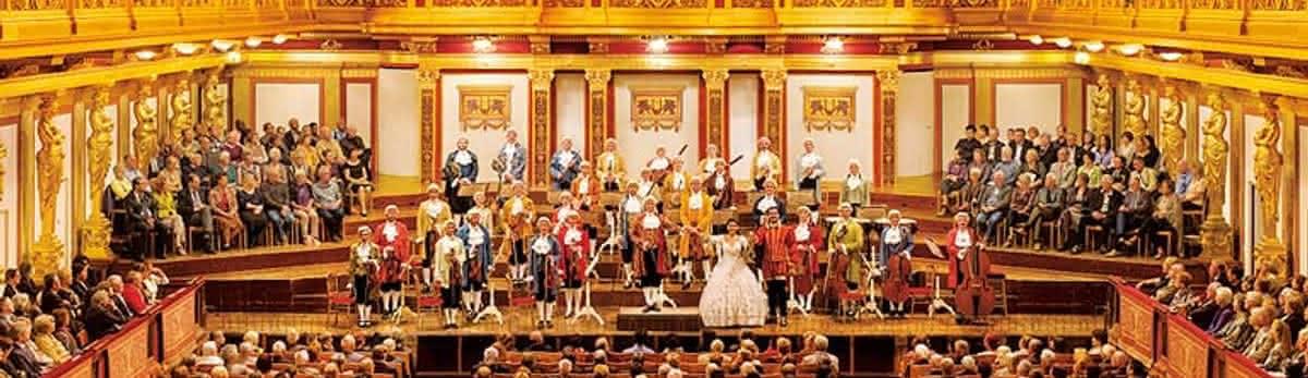 Concert of the Wiener Mozart Orchester at Wiener Musikverein