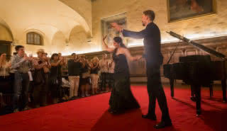 Opéra italien romantique avec dîner
