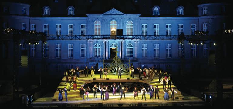 Opéra en Plein Air at Château de Haroué (Les Contes d'Hoffmann, 2008) © Photo: Didier Doussin