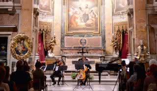 Les Quatre Saisons de Vivaldi dans l'église Caravita de Rome