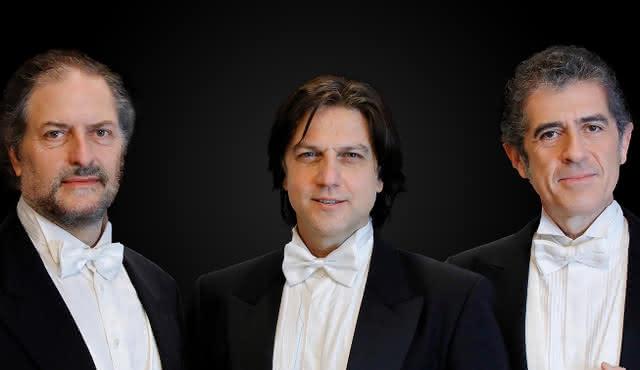 Trois ténors, arias d'opéra et ballet de Napul'è avec dîner